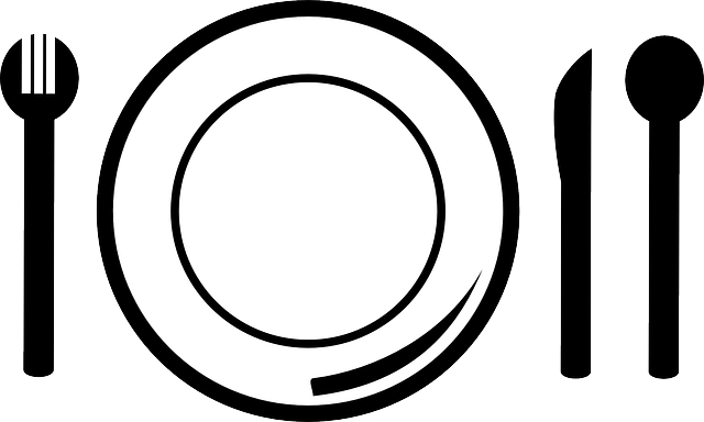 Porcelain Plate Knife · Free vector graphic on Pixabay