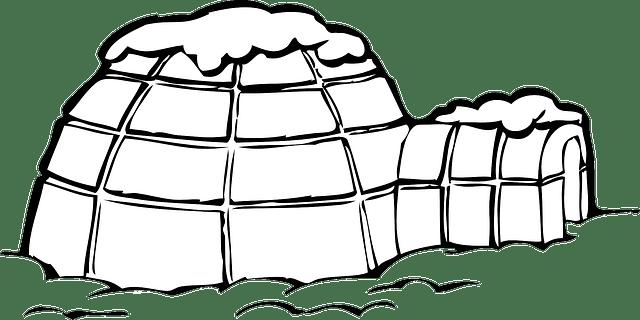 Igloo Ice Snow · Free vector graphic on Pixabay