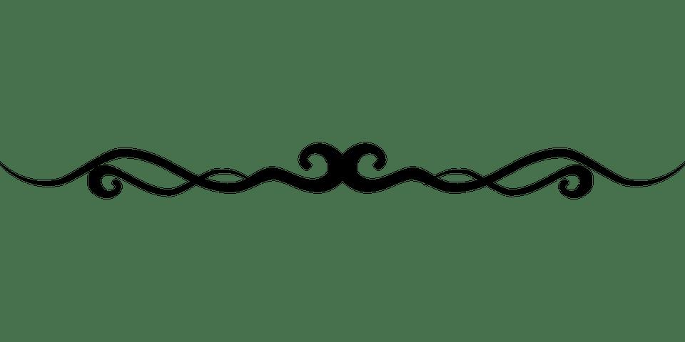 flourish line border free