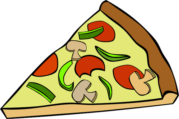 Pizza Slice Food Free vector graphic on Pixabay