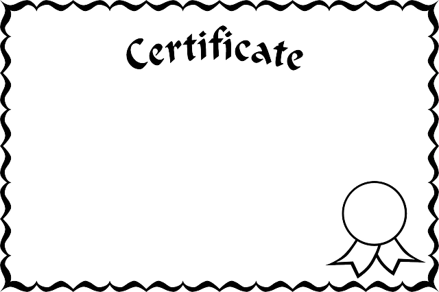 Certificate Certification · Free vector graphic on Pixabay