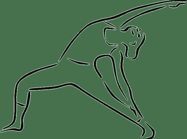 Free vector graphic: Yoga, Yoga Pose, Trikonasana Bikram