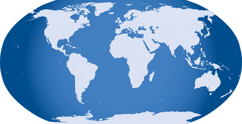 globe world map free