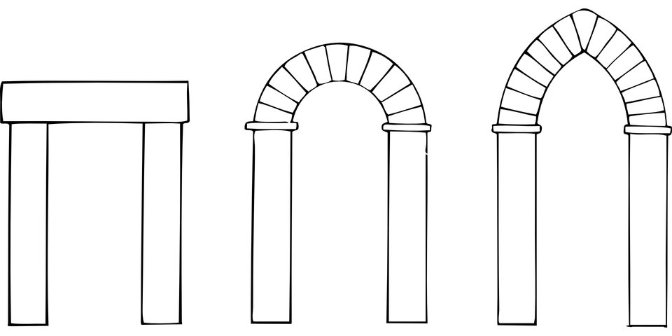Arches Types Historic · Free vector graphic on Pixabay