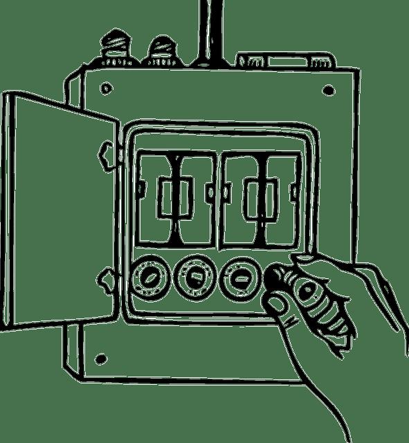 Kostenlose Vektorgrafik: Box, Sicherung, Macht, Strom
