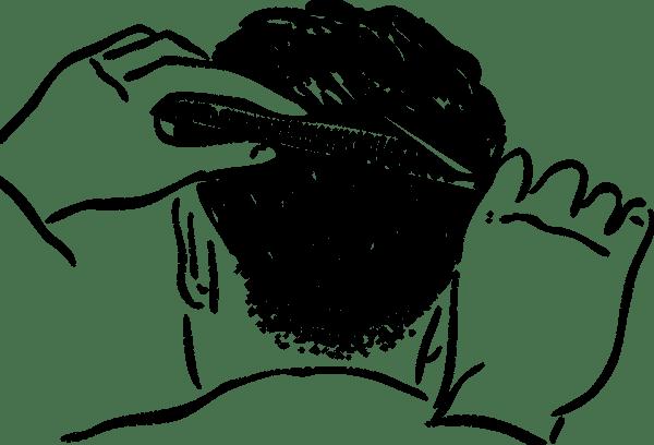 corte de pelo hombre barber estilo