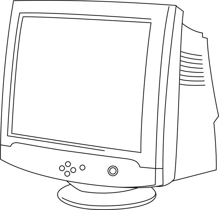 Computer Monitor Screen · Free vector graphic on Pixabay