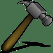 martillo herramienta metal grficos