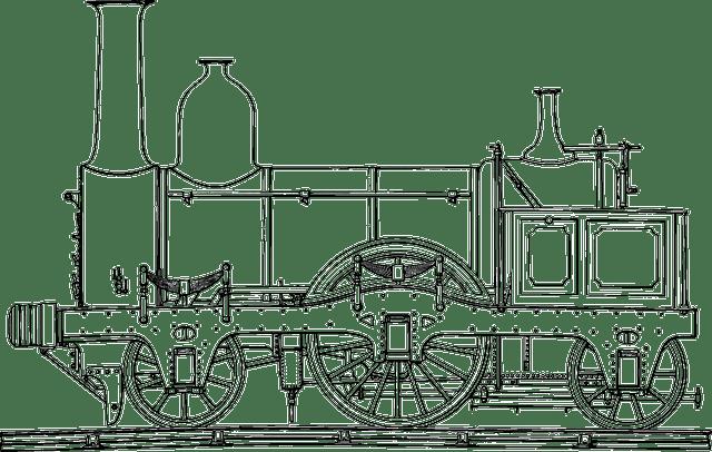 Steam Engine Train · Free vector graphic on Pixabay