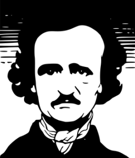 Edgar, Allan, Poe, American, Autor
