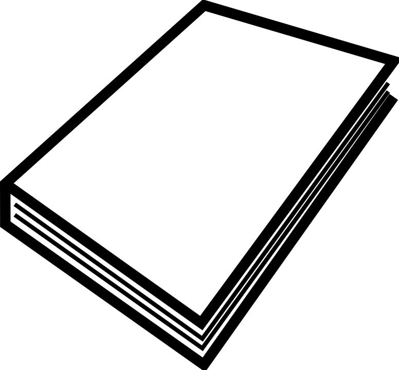 Paper Book Stack · Free vector graphic on Pixabay