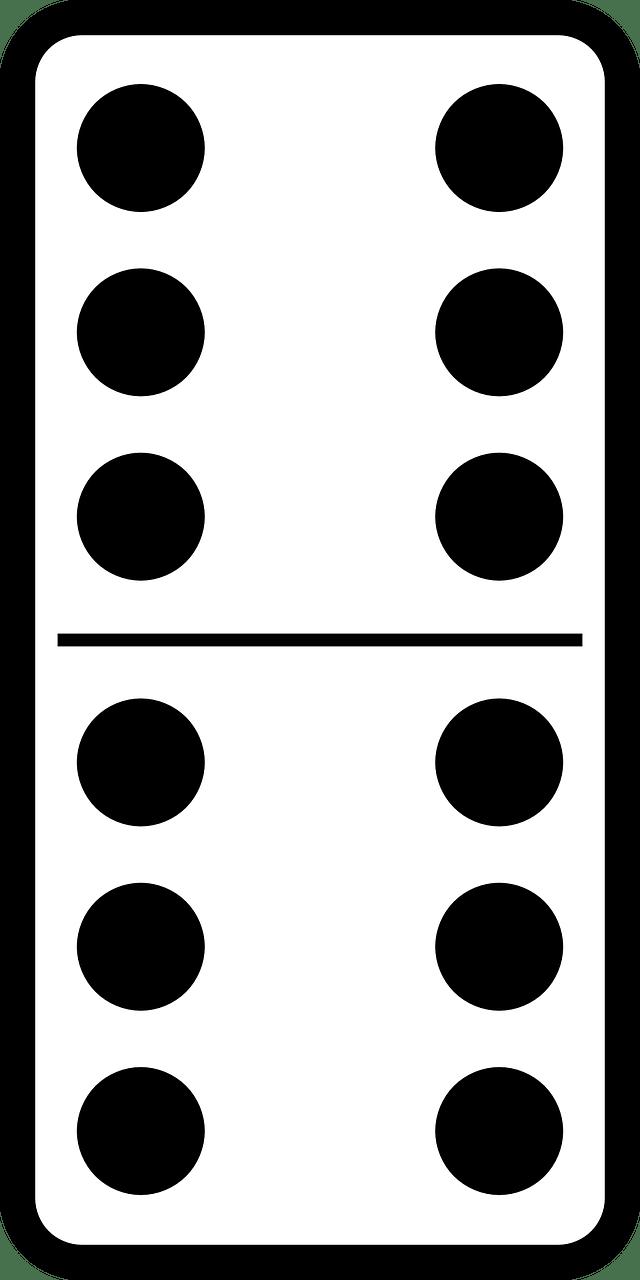 Bones Game Dominoes : bones, dominoes, Domino, Dominoes, Vector, Graphic, Pixabay