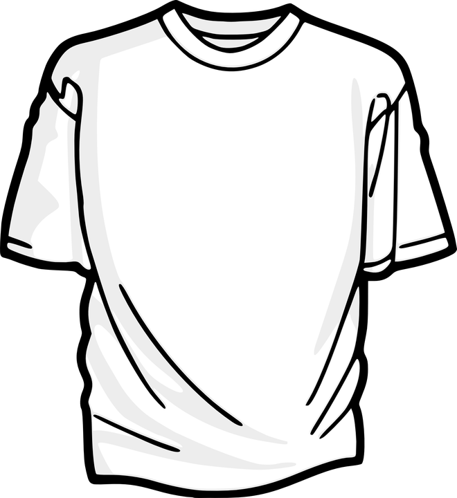 T-Shirt Shirt Top · Free vector graphic on Pixabay