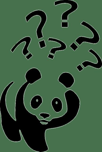 Gratis vectorafbeelding: Beer, Zwart Wit, Panda, Wandelen