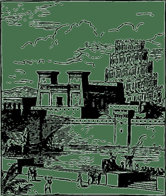Free vector graphic: Building, City, Ancient, Babylon
