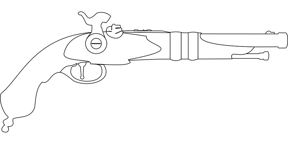 Pistol Musket Vintage · Free vector graphic on Pixabay