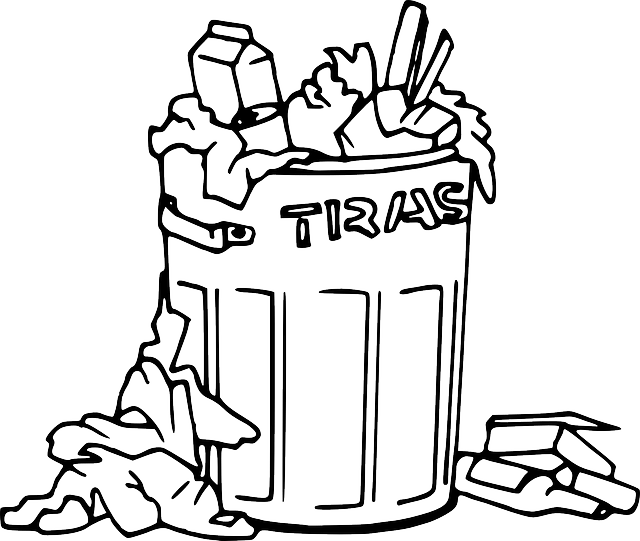 Trash Can Garbage · Free vector graphic on Pixabay
