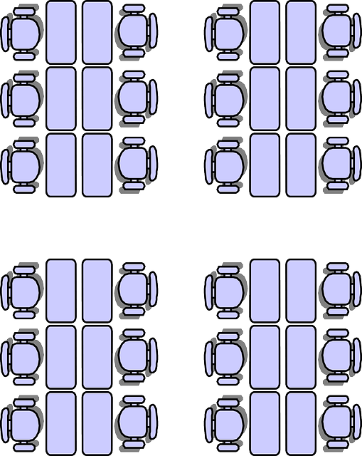 Classroom Seating Arrangements  Free vector graphic on
