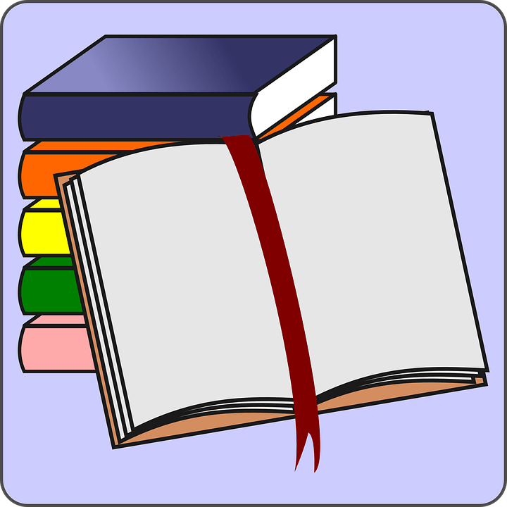 Buku Terbuka Bookmarker  Gambar vektor gratis di Pixabay