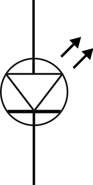 Free vector graphic: Diode, Led, Symbol, Electronics
