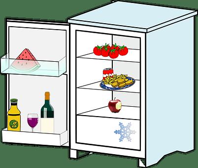 Refrigerator, Kitchen, Appliance