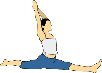yoga exercise exercising pixabay woman body fitness mind vector graphic