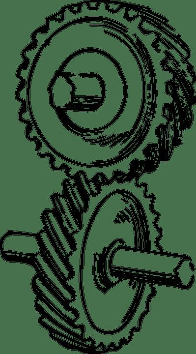 Free vector graphic: Gears, Wheel, Rotate, Mechanical
