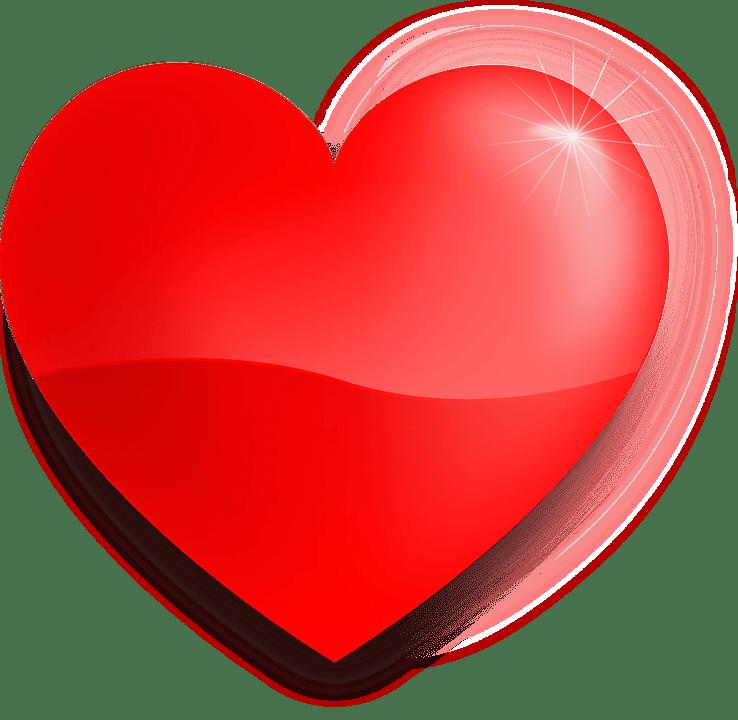 Corazn El Amor Rojo  Grficos vectoriales gratis en Pixabay