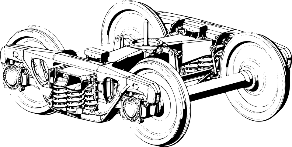 Railway Mechanical Parts · Free vector graphic on Pixabay