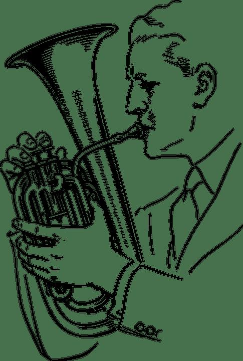 Tuba Player Musical · Free vector graphic on Pixabay