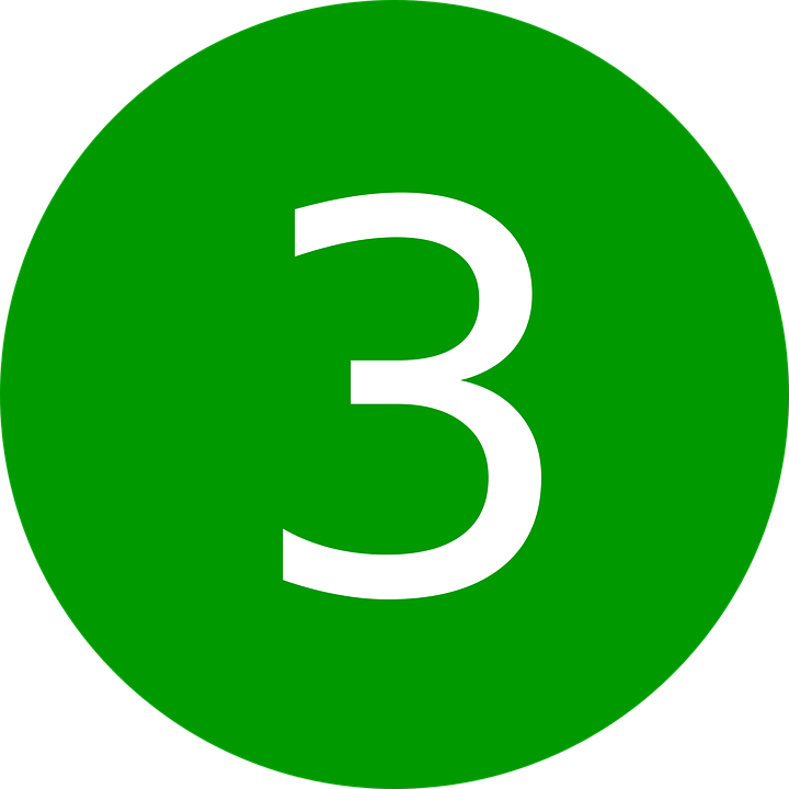 three number 3 free