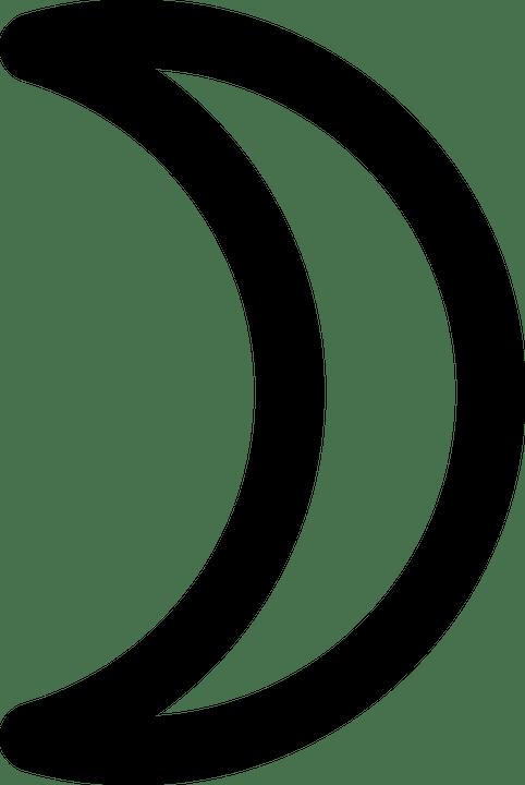 Vektor Bulan Sabit : vektor, bulan, sabit, Bulan, Sabit, Bentuk, Gambar, Vektor, Gratis, Pixabay