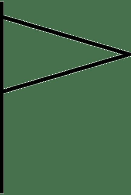 Bendera Segi Tiga Segitiga  Gambar vektor gratis di Pixabay