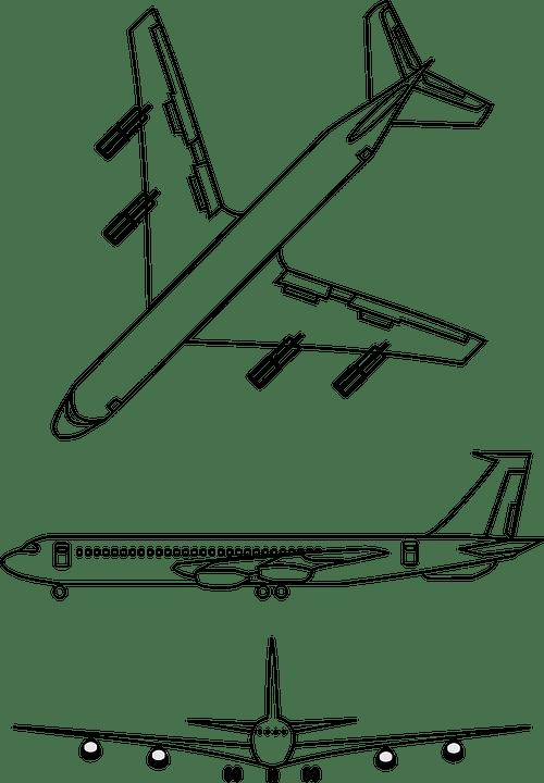 Airplane Transportation Plane · Free vector graphic on Pixabay