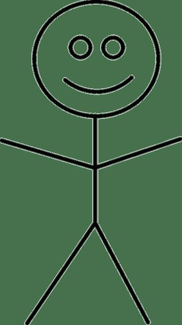 Bonhomme Allumette Bâton Figure · Images vectorielles