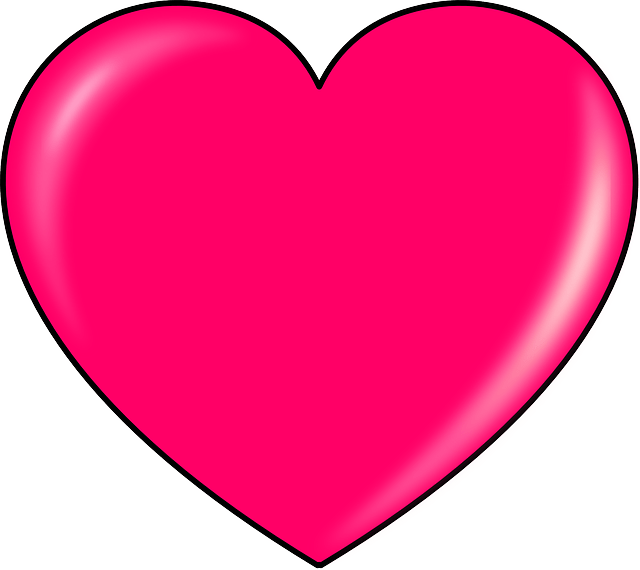 Corao Rosa Formas  Grfico vetorial grtis no Pixabay