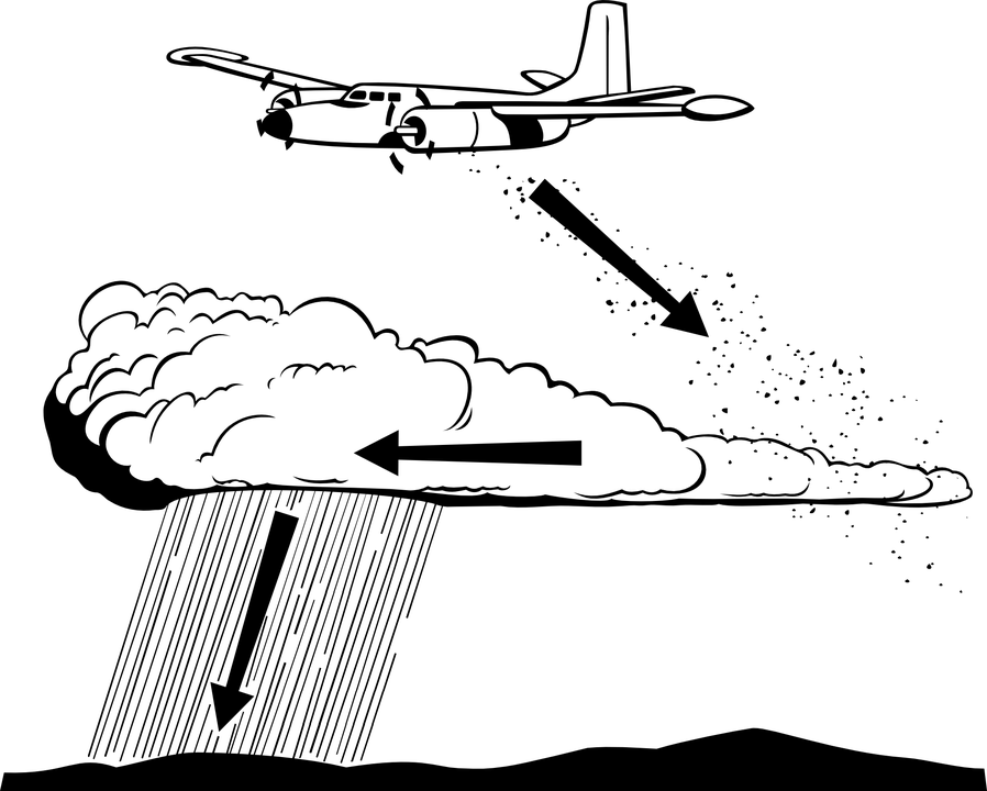 Cloud Farm Plane · Free vector graphic on Pixabay