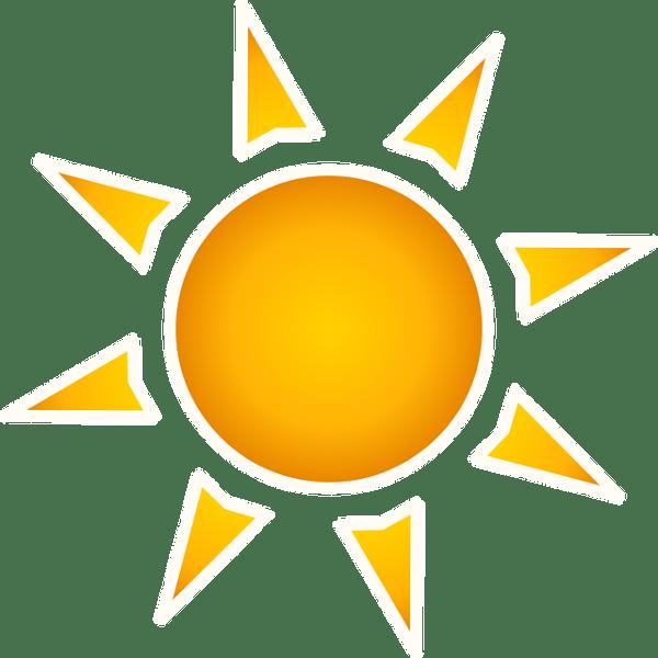 free vector graphic sun solar