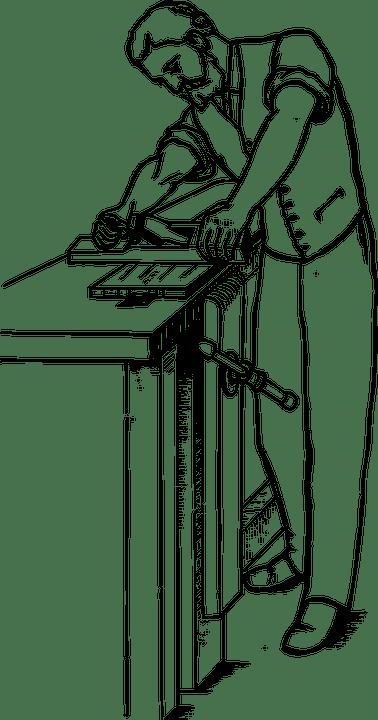 Free vector graphic: Man, Carpenter, Working, Worker