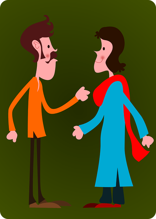 Couple Man Woman  Free vector graphic on Pixabay