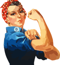 Woman, Equality, Rosie, Riveter, Women