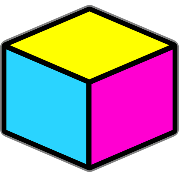 free vector graphic cube objects