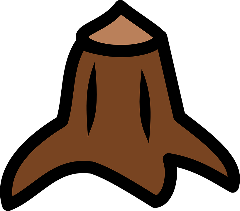 Tree Stump Forest Free Vector Graphic On Pixabay