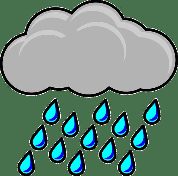 Image vectorielle gratuite Raincloud Tempête Météo