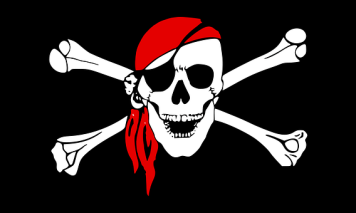 Pirate, Crossbones, Skull, Flag, Bones