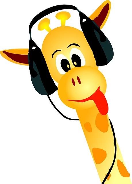 Free photo Giraffe Yellow Animal Music  Free Image on