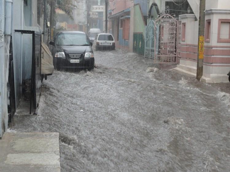 Flood, Water, Street, Disaster, Emergency, Flooding