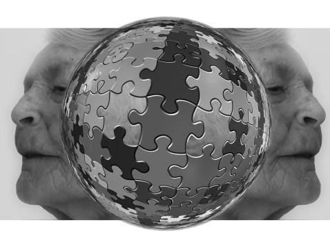 Puzzle, Creo Que, Mujer, Edad, Demencia