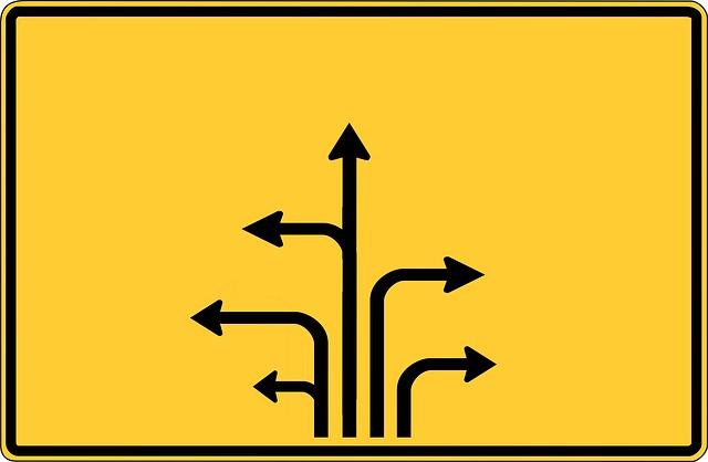 Free Illustration Road Sign Arrows Arrow Direction