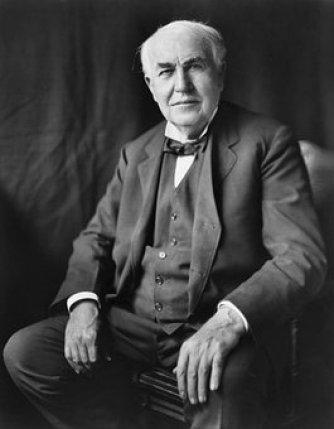 Thomas Alva Edison, Inventor, 1922